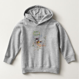 """""""Hidden Treasures"""" Toddler Fleece Sweatshirt Grey"""
