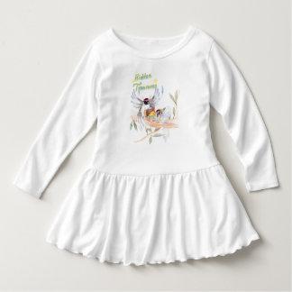 """Hidden Treasures"" Toddler Ruffle Dress"