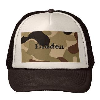 Hidden Trucker Hat