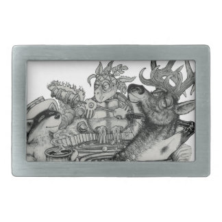 Hidden Wallow Hot Tub Belt Buckles
