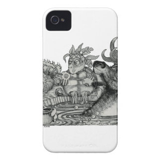 Hidden Wallow Hot Tub iPhone 4 Cover