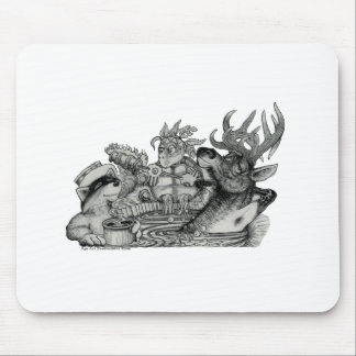 Hidden Wallow Hot Tub Mouse Pad