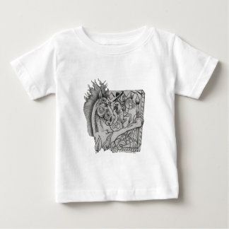 Hidden Wallow Ringo The Horse Baby T-Shirt