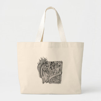 Hidden Wallow Ringo The Horse Large Tote Bag