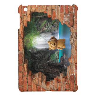 (hidden waterfall & Ted) iPad mini Cover For The iPad Mini
