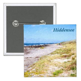 Hiddensee 2 Inch Square Button