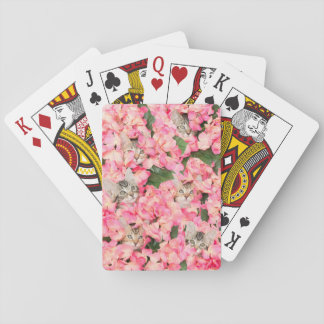 Hide and Peek Kittens Playing Cards