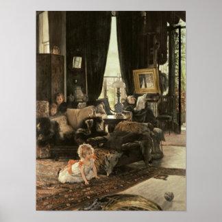 Hide and Seek, c.1880-82 Poster