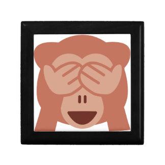 Hide and seek Emoji Monkey Gift Box