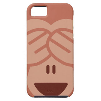 Hide and seek Emoji Monkey iPhone 5 Cover