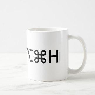 Hide Others Basic White Mug