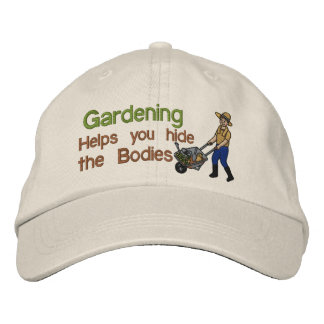 Hide the Bodies Embroidered Hat