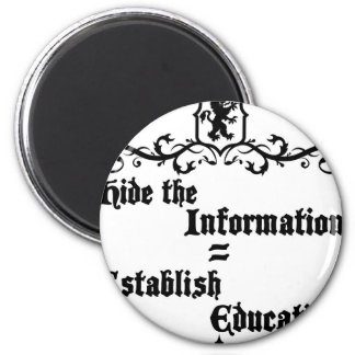 Hide The Information Establish Education Magnet
