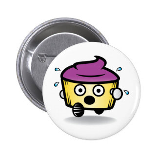 Hide your cupcakes! 2 inch round button
