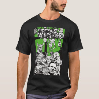 "Hideous Mangleus ""Support The Core"" T-Shirt"