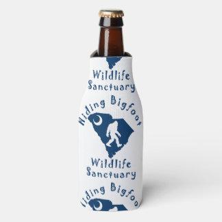 Hiding Bigfoot Wildlife Sanctuary Bottle Cooler