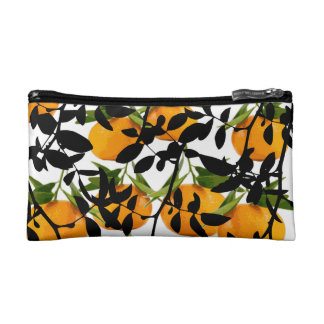 Hiding Mandarins Cosmetic Bag