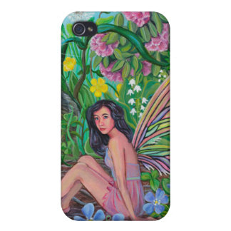 Hiding Places Fairy IPhone4 by Kathi Dugan Case For iPhone 4