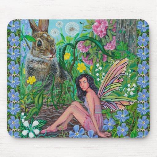 """""""Hiding Places"""" MousePad by Kathi Dugan"""