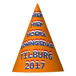 Hiep Hiep Hoera Koningsdag Tilburg 2017 King's Day Party Hat