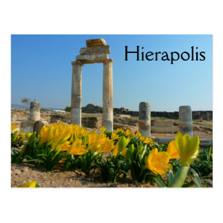 Hierapolis Ruins, Pamukkale, Turkey Postcard