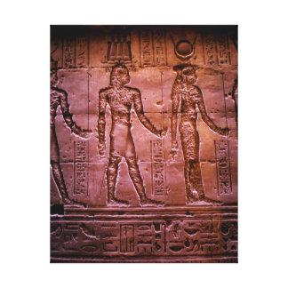 Hieroglyphics Canvas Print
