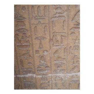 Hieroglyphics Series Letterhead