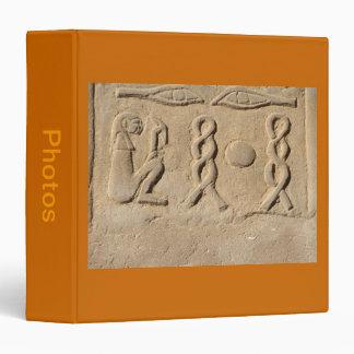 Hieroglyphics Vinyl Binder