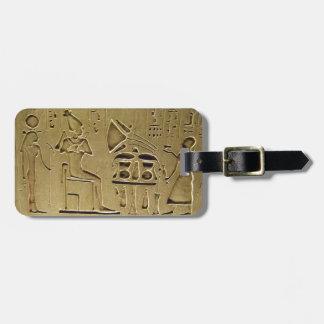 Hieroglyphs Luggage Tag
