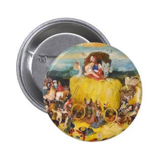 Hieronymus Bosch painting art 2 Inch Round Button