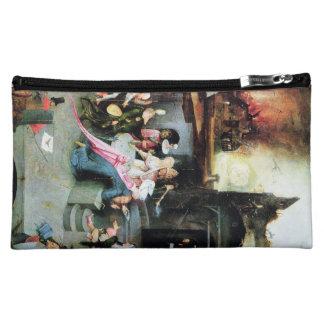 Hieronymus Bosch painting art Cosmetics Bags