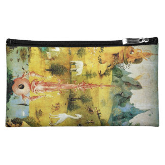 Hieronymus Bosch painting art Makeup Bags