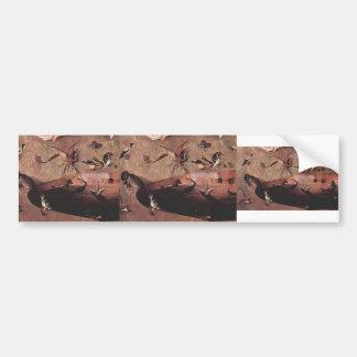 Hieronymus Bosch- The Garden ofEarthly Delights Bumper Sticker