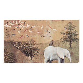 Hieronymus Bosch- The Garden ofEarthly Delights Business Card Template