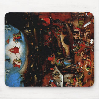 Hieronymus Bosch The Last Judgement Mouse Pad