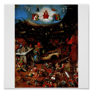 Hieronymus Bosch The Last Judgement Poster