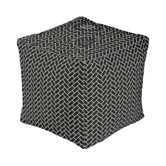Higaki Japanese Pattern Pouf B