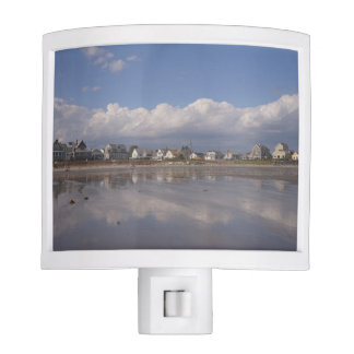 Higgins Beach Day with Billowy Clouds Night Light