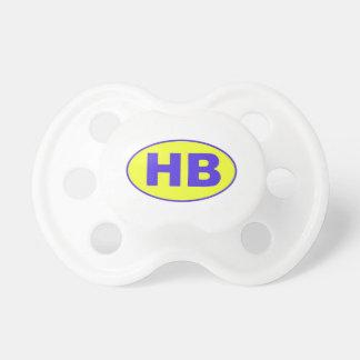 Higgins Beach HB Oval Pacifier