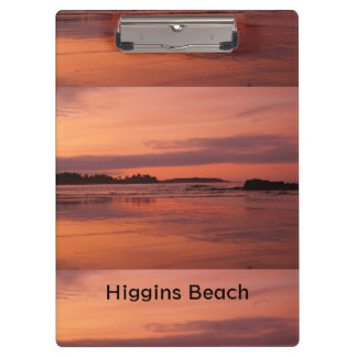 Higgins Beach Sunrise Clipboard
