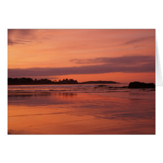 Higgins Beach Sunrise Greeting Card