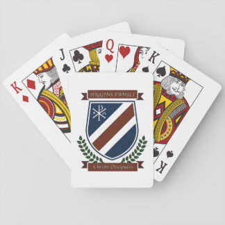 Higgins Family Crest Playing Cards