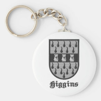 Higgins Irish Clan key chain
