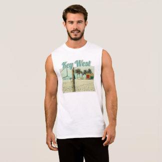 Higgs Beach Open Doubles Volley Ball Net, Key West Sleeveless Shirt