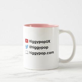 Higgypop Official Two-Tone Mug