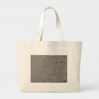High angle view of brown ground large tote bag