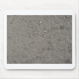 High angle view of brown ground mouse pad