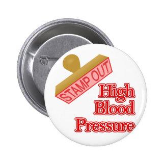 High Blood Pressure 2 Inch Round Button
