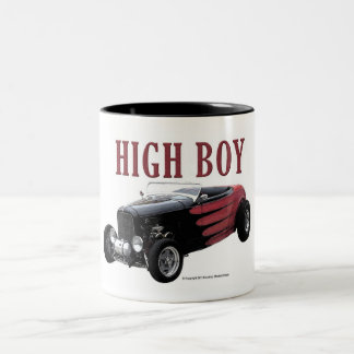 High Boy Two-Tone Coffee Mug