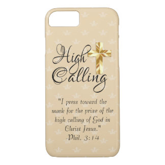 High Calling with Scripture iPhone, iPad, Samsung iPhone 8/7 Case